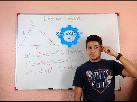 Ley De Cosenos, En Qué Casos Se Aplica Y Cuáles Son Las Fórmulas - Trigonometría