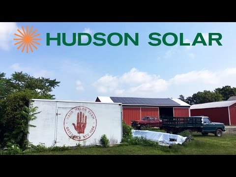 Hand Melon Farm Solar Installation