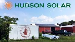Hand Melon Farm Solar Installation