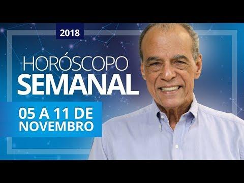 HORÓSCOPO SEMANAL (05 a 11 de Novembro de 2018) | João Bidu