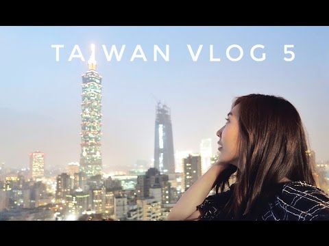 TAIWAN VLOG 5: LAST NIGHT IN TAIPEI CITY!