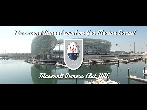 Maserati Club UAE Annual event @ Yas Marina Circuit