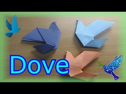 Dove Craft (Origami)
