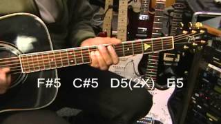 How To Play HOLD THE LINE Toto Acoustic Rock Guitar Lesson COMPLETE Song