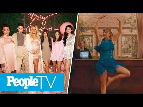 Khloé Kardashian's Extravagant Pink Baby Shower, Taylor Swift Debuts New Music Video | PeopleTV