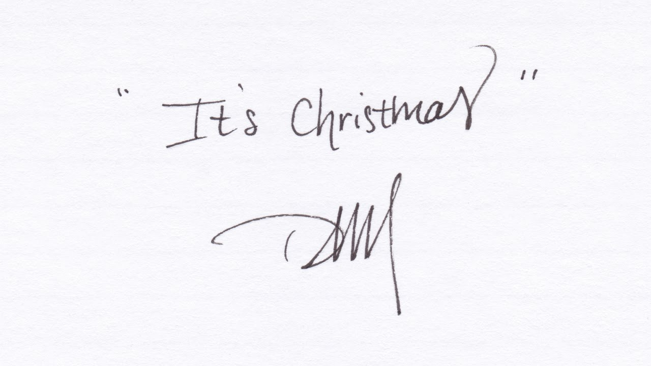 It\'s Christmas - Daniel Martin Moore (Official Lyrics) - YouTube