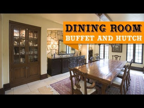 80+ Dining Room Buffet and Hutch