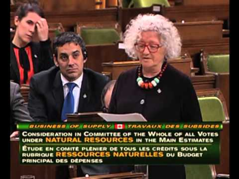 Ladies and Gentlemen - Canada's Minister of Natural Resources