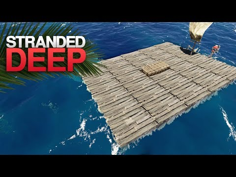 HUGE FISHING PLATFORM! Stranded Deep S3 Episode 25