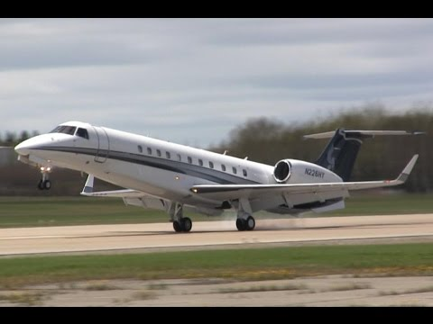 Embraer EMB-135BJ Legacy Rough Landing