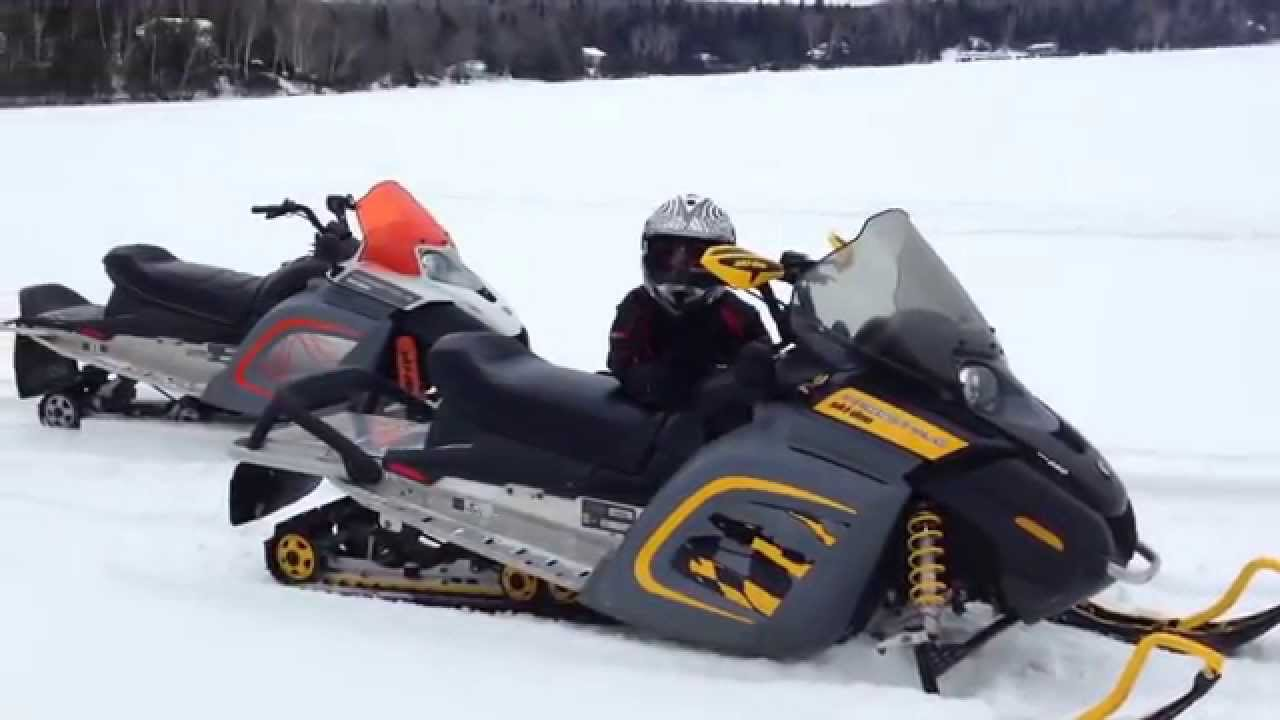 Freestyle ski-doo 300 - YouTube