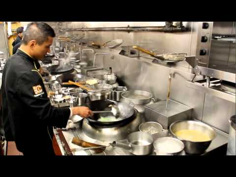 Chef Chung cooks at Cuisine Cuisine ifc, Hong Kong