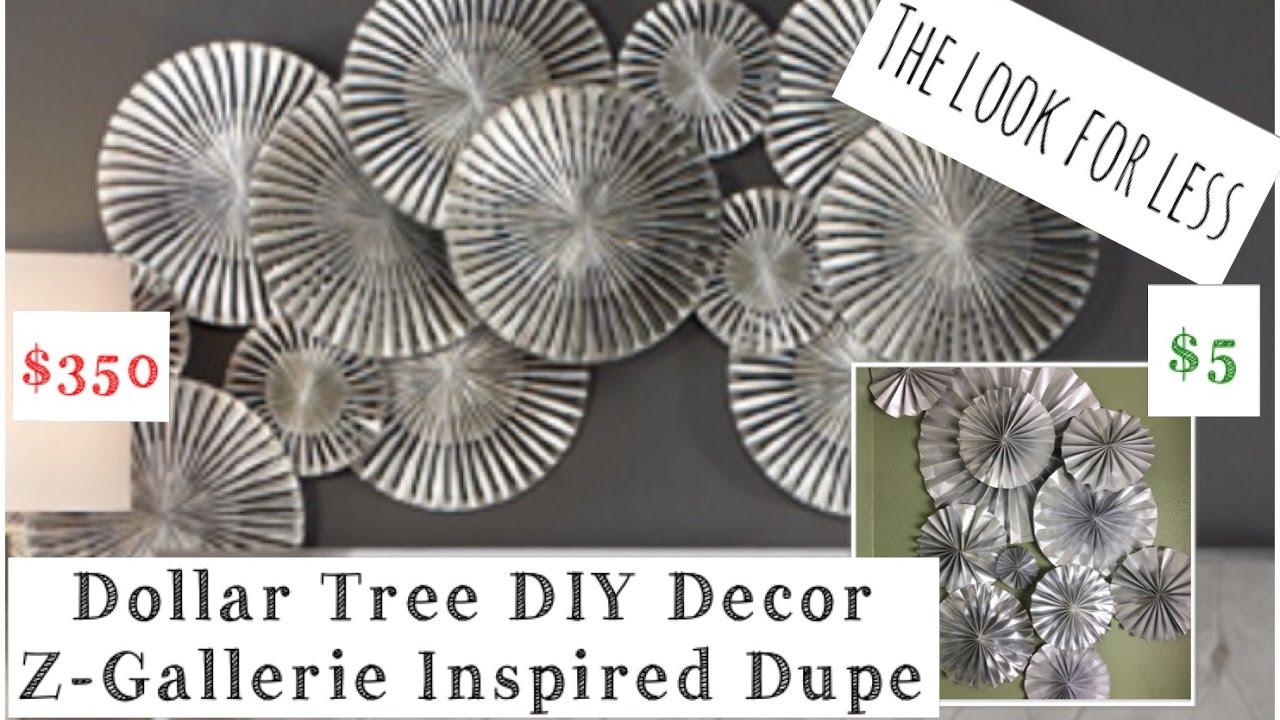 Dollar Tree DIY Wall Decor Z Gallerie Inspired