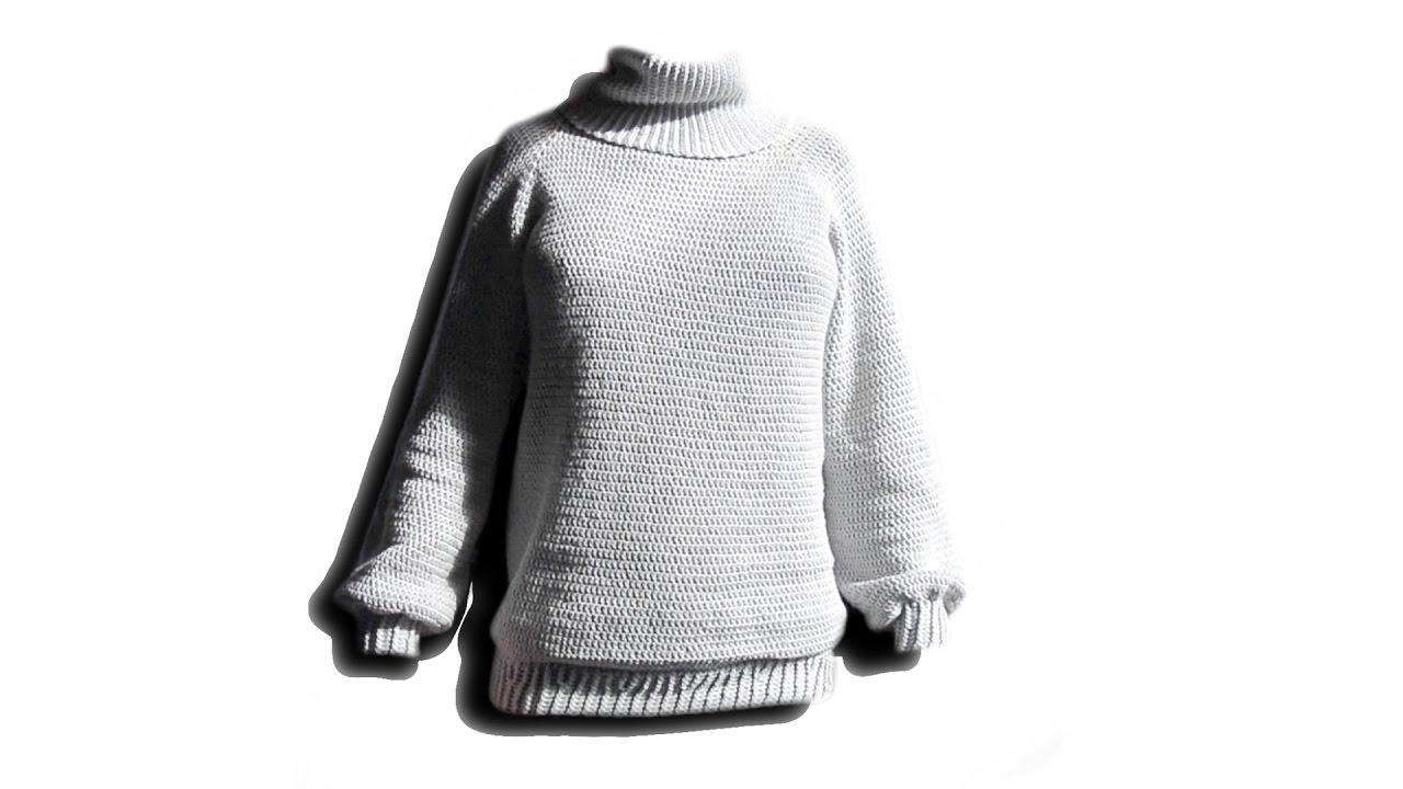RVO Pullover Häkelanleitung - Woolpedia® - YouTube