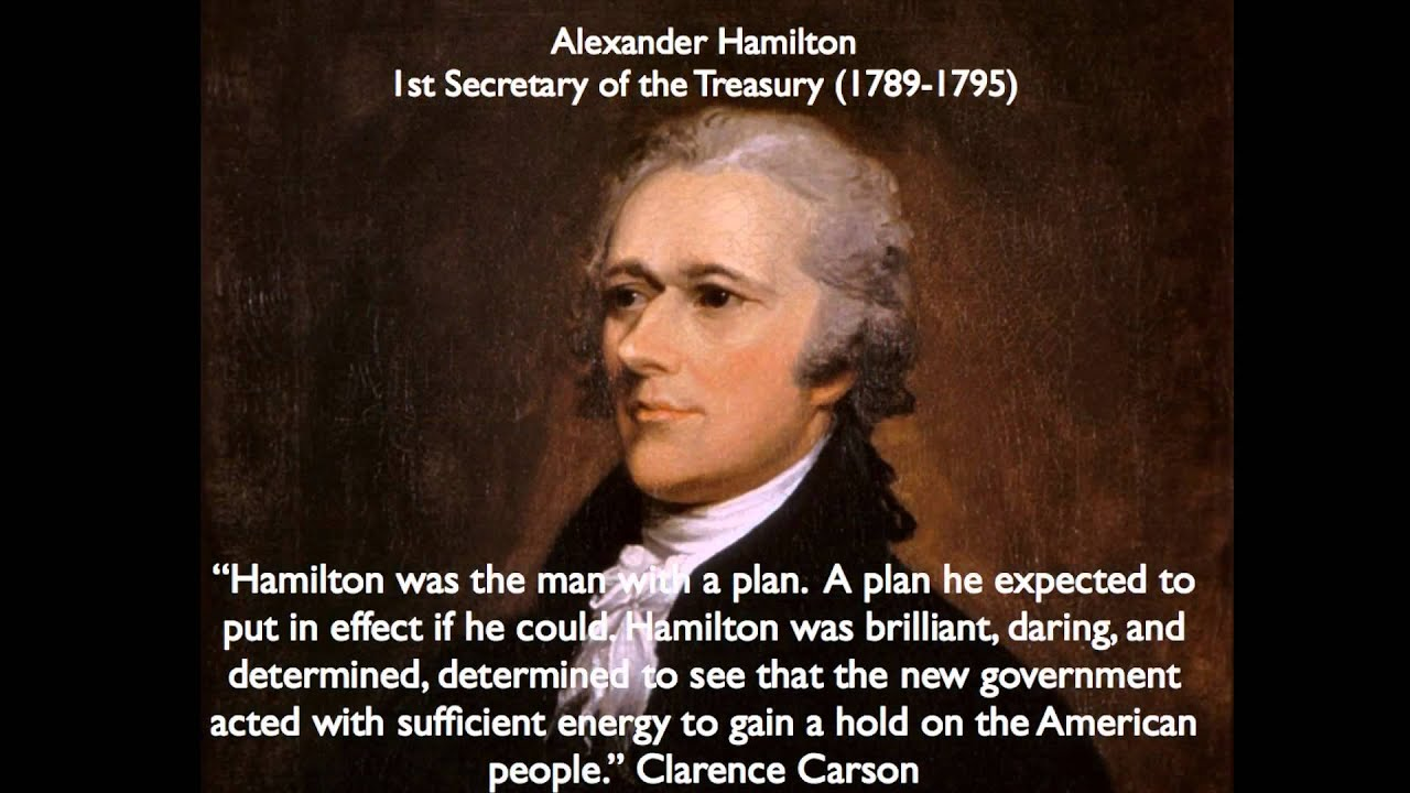 the role of alexander hamilton in the building of america Alexander hamilton's economic plan involved setting up a national bank, taxing individuals and the federal government assuming the entire national debt, including the debt of each individual state.