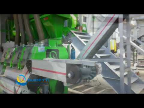 RAEE - Recycling Output Material Guidetti System