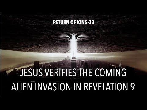 JESUS VERIFIES THE COMING ALIEN INVASION