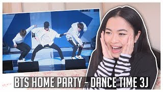 Video BTS HOME PARTY - Dance Time 3J (J-Hope, Jimin, Jungkook) REACTION! [BTS Festa 2017] download MP3, 3GP, MP4, WEBM, AVI, FLV September 2017