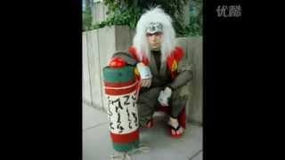 Great Naruto cosplay costume, like Naruto!