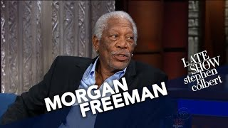 Morgan Freeman Likes The Same Sci-Fi As Stephen