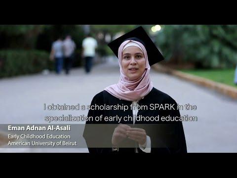 SPARK: Syrian Refugee, Eman El Assali, graduating in Lebanon