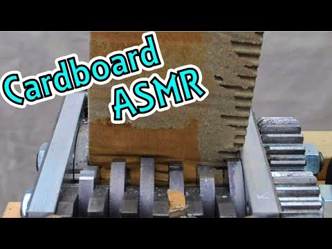 Shredding #12: Cardboard ASMR!