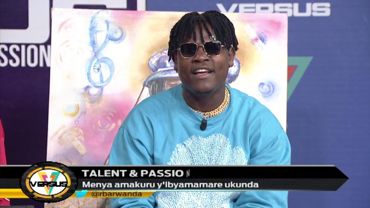 VERSUS: Ikiganiro cyihariye na Bruce Melody watangiye kuririmba ari umuraperi akabivamo