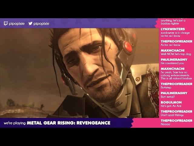 R-06 & R-07   Metal Gear Rising: Revengeance