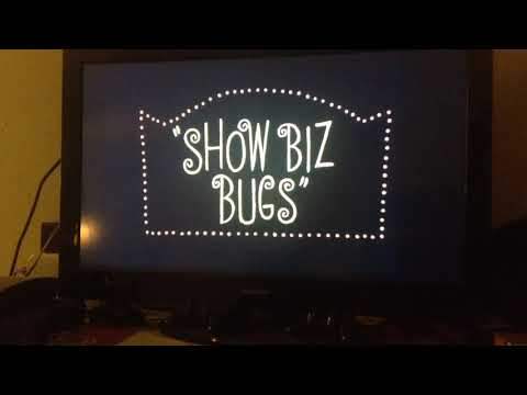Looney Tunes Showbiz Bugs (1957) Intro