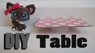 DIY Furniture: How To Make A LPS Table
