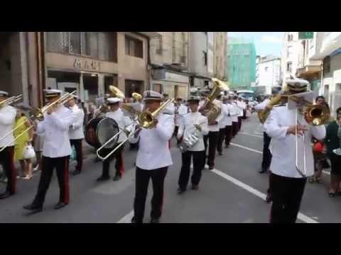 Saeta al Cristo de los Gitanos. Banda Escuela Naval Marín 2014