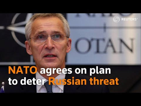 NATO agrees on master plan to deter growing Russian threat