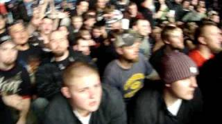 Chaos in Slipknot Mosh Pit