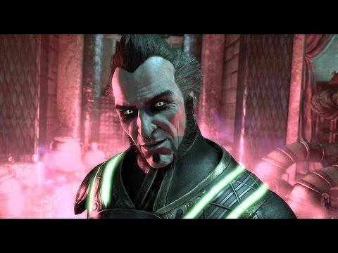 The League of Assassins Scenes (Arkham Series) 1080p HD