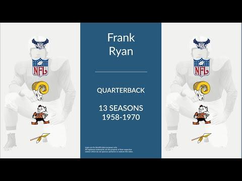 Frank Ryan: Football Quarterback