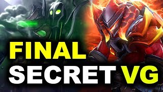 SECRET vs VG - GRAND FINAL - CAPTAINS DRAFT 4.0 DOTA 2