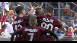 Hat-trick for Europe: AC Milan-Bologna 3-0