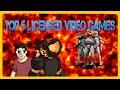 Top 5 Licensed Video Games