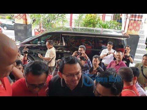 Sambangi Kantor DPD PDI Perjuangan Bali, Ahok: Main Mp3
