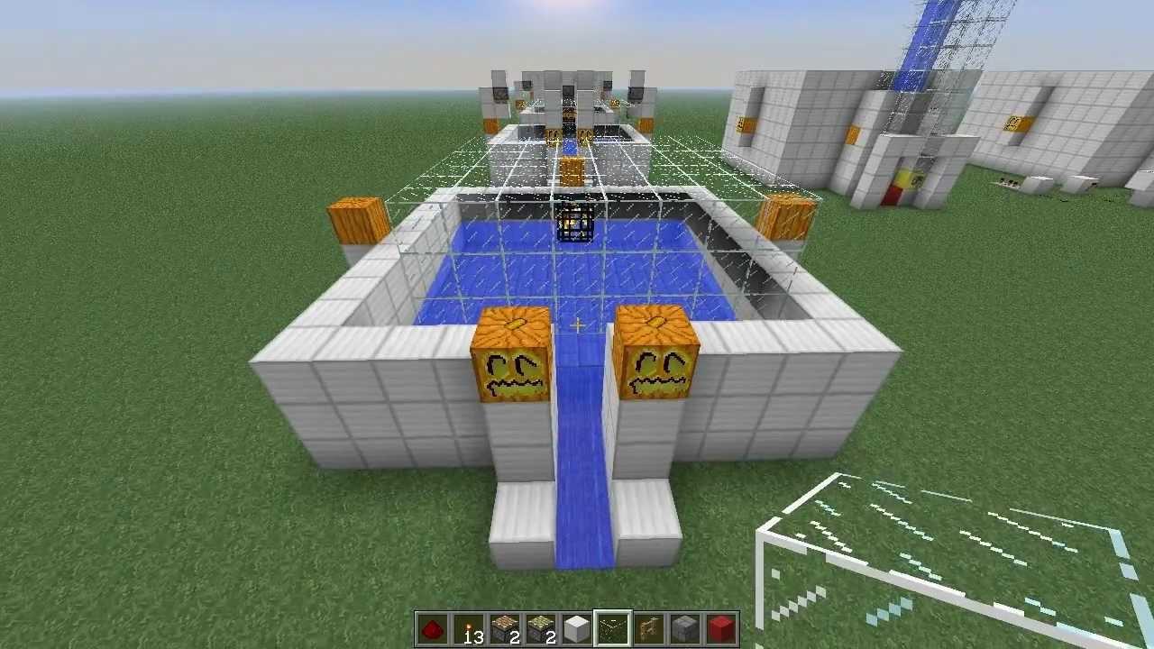 Minecraft Arrow Xp Farm Skeleton Experience Mob Spawner Trap Youtube