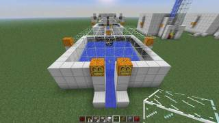 Minecraft Arrow XP Farm - Skeleton Experience Mob Spawner Trap