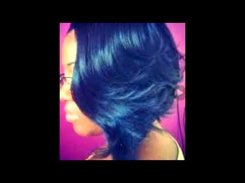 Feathered Bobs Hairstyles Youtube
