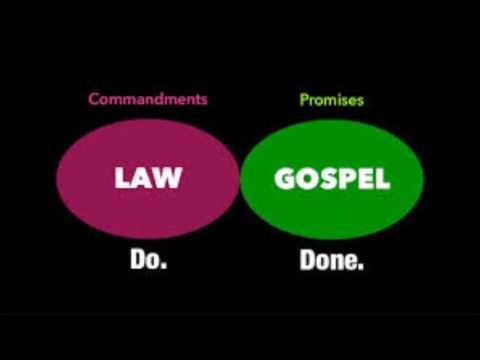 Law versus GRACE    gleaning in Galatians