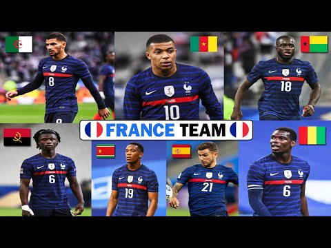 Whether it's to pass that big test, qualify for that big prom. Get To Know The Origin Of French Team Football Players 2020ft Aouar Camavinga Pogba Mbappe Dembele Youtube