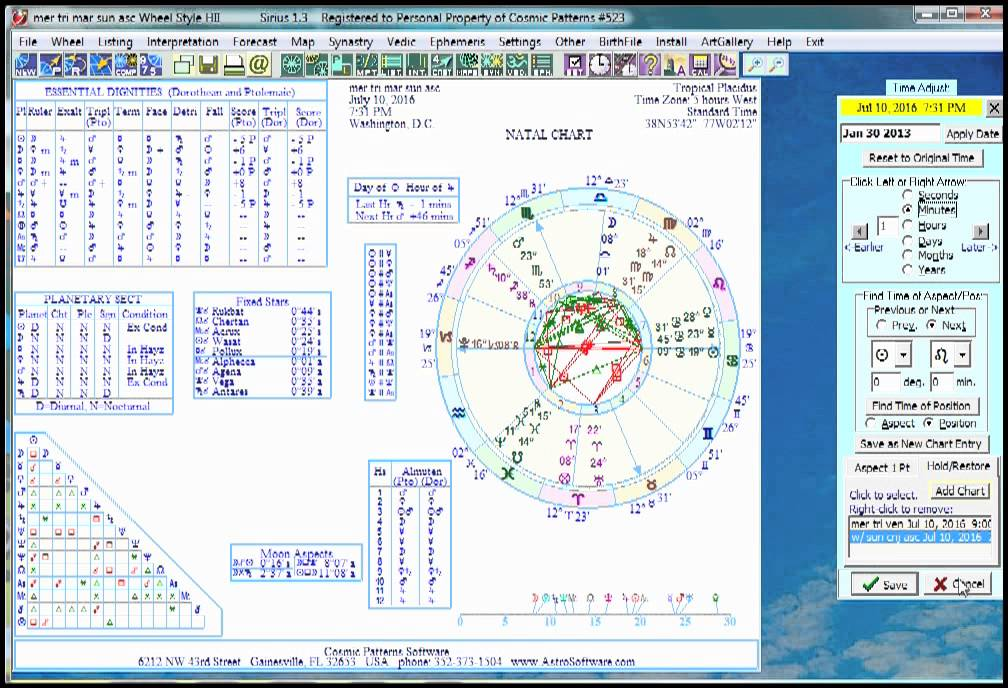 electional astrology software downloads