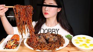 기생충 람동 한우채끝짜파구리 리얼사운드먹방/Ram-Don From Parasite STEAK BLACK BEAN NOODLES CHAPAGURI Mukbang Eating Show