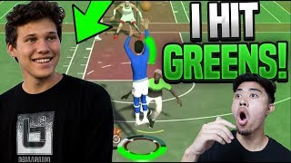 USING JESSERTHELAZER'S JUMPSHOT IN NBA 2K19 🏀NBA 2K19 BEST JUMPSHOT 😱I HIT GREENS!
