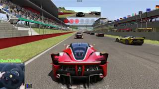 Assetto Corsa - Gameplay ITA - T300 + TH8A - FERRARI FXX K - Race Mugello