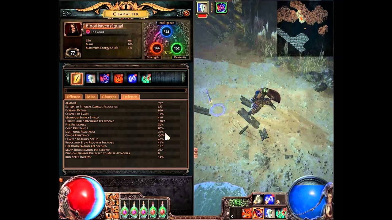 path of exile purity of elements