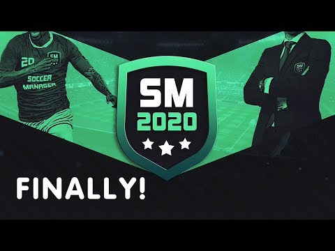 Soccer Manager 2020 Gameplay. Finally!